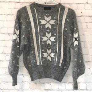VINTAGE DEMETRE Wool Sweater in EUC Sz XS-S